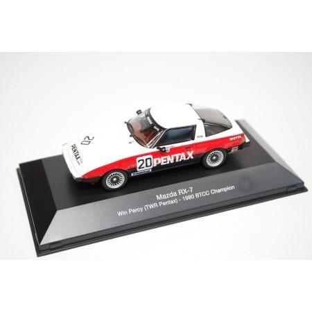 "Atlas Mazda RX-7 #20 ""TWR Pentax"" BTCC Champion 1980 - Win Percy"