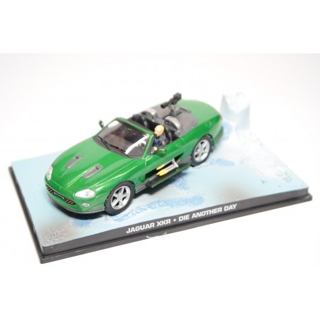 """Altaya Jaguar XKR X100 """"Die Another Day (2002)"""" 2002 - Green"""