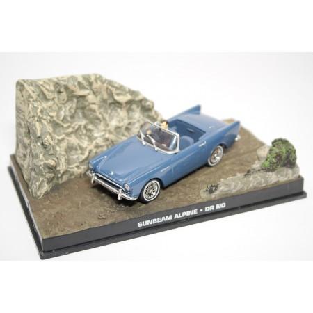 "Altaya Sunbeam Alpine Series II ""Dr. No (1962)"" 1961 - Light Blue Gray"