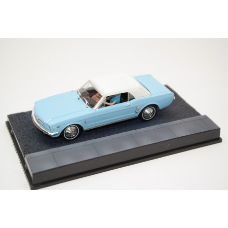 "Altaya Ford Mustang Convertible ""Thunderball (1965)"" 1965 - Caribbean Turquoise"