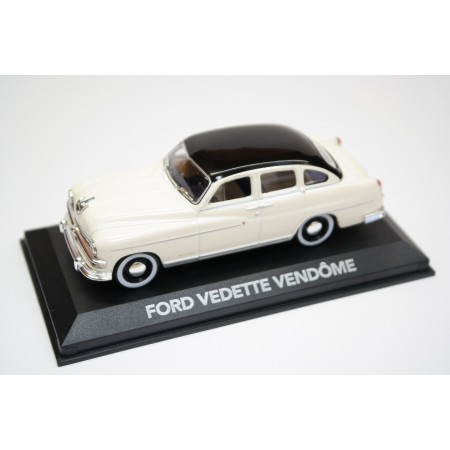 Atlas Ford Vedette Vendôme 1953 - Cream Beige with Black Roof