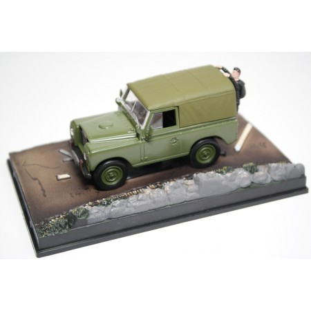 "Altaya Land Rover 88'' Series III ""The Living Daylights (1987)"" 1971 - Military Green"