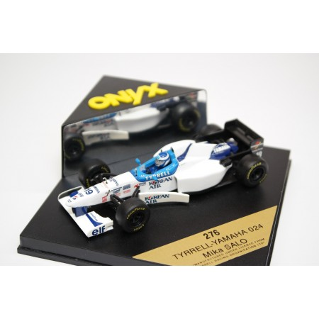 "Onyx Tyrrell 024 #19 ""Tyrrell Yamaha 024"" Formula 1 1996 - Mika Salo"