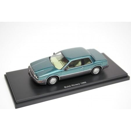 BoS-Models Buick Riviera VII Coupe 1988 - Turquoise Metallic