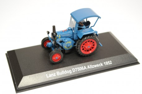 Hachette Lanz Bulldog D7506A Allzweck 1952 - Blue