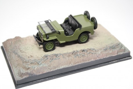 "Altaya Willys Jeep M606 ""Octopussy (1983)"" 1942 - Military Green"