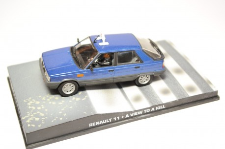 "Altaya Renault 11 TXE X37 Taxi ""A View to a Kill (1985)"" 1983 - Blue"