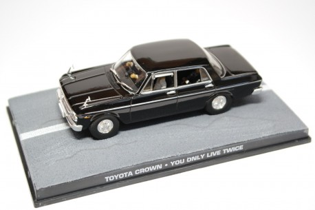 """Altaya Toyota Toyopet Crown Deluxe MS41 """"You Only Live Twice (1967)"""" 1966 - Black"""