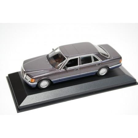 Maxichamps Mercedes-Benz 560 SEL W126 1990 - Violet Gray Metallic