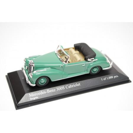 Minichamps Mercedes-Benz 300 S Cabriolet W188 1954 - Lake Green