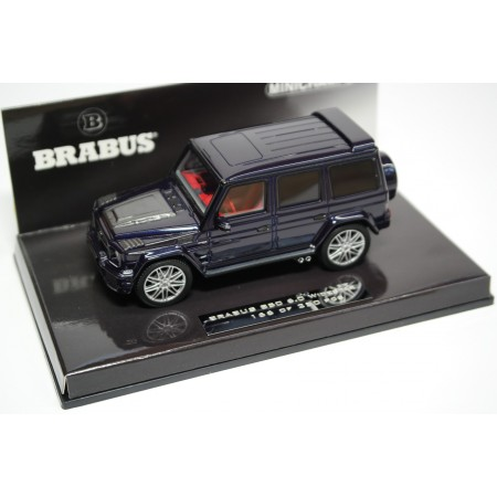 Minichamps Brabus 850 6.0 Biturbo Widestar based on Mercedes-Benz G 63 AMG 2016 - Designo Mystic Blue
