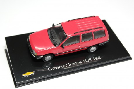 Hachette Chevrolet Ipanema SL/E 1992 - Radiant Pale Red