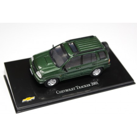 Hachette Chevrolet Tracker 2001 - Medium Green Metallic