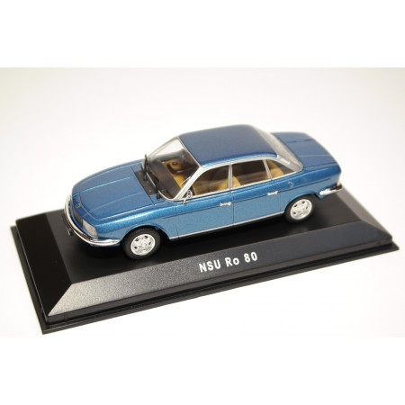 Minichamps NSU Ro 80 1972 - Alaska Blue Metallic