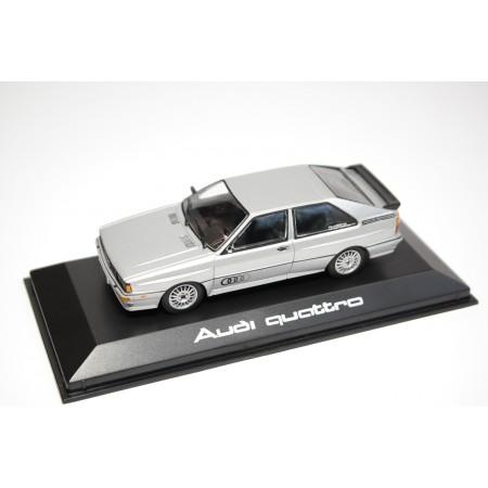 Minichamps Audi quattro 1980 - Diamond Silver Metallic