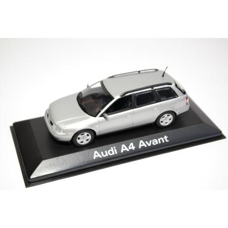 Minichamps Audi A4 Avant B5 Facelift 1999 - Aluminum Silver Metallic