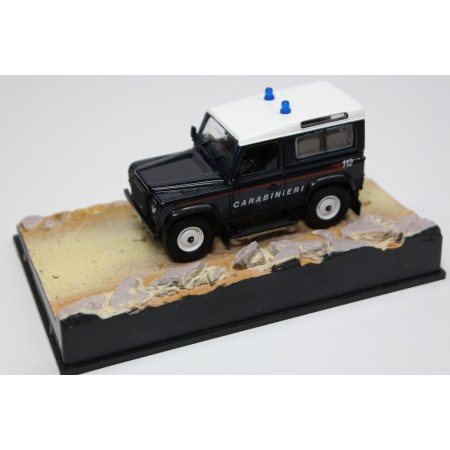 "Altaya Land Rover Defender 90 Station Wagon Carabinieri ""Quantum of Solace (2008)"" 2007 - Dark Blue"