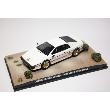 "Altaya Lotus Esprit Turbo Series III Type 82 ""For Your Eyes Only (1981)"" 1980 - White"