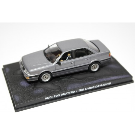 "Altaya Audi 200 quattro Exclusiv C3 Typ 44Q ""The Living Daylights (1987)"" 1986 - Grey Metallic"