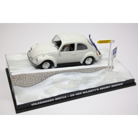 "Altaya Volkswagen Beetle 1300 Typ 1 ""On Her Majesty's Secret Service (1969)"" 1969 - White"