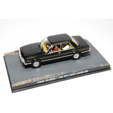 "Altaya Ford Taunus Ghia TC2 ""The Spy Who Loved Me (1977)"" 1976 - Black"
