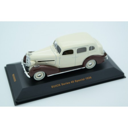 IXO Buick Series 40 Special 1936 - Beige/Brown