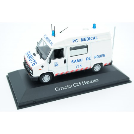 Atlas Citroën C25 Heuliez Ambulance 1984 - White