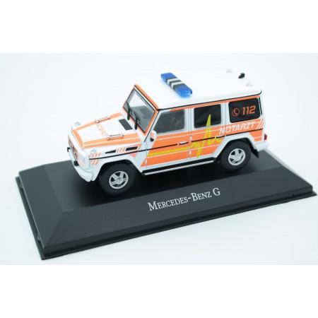 Atlas Mercedes-Benz G 350 BlueTec Notarzt Ambulance 2012 - White/Orange