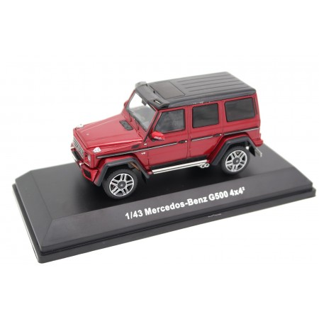 iScale Mercedes-Benz G-Class G 500 4x4² W463 2015 - Tomato Red