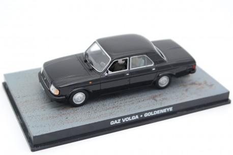 """Altaya GAZ-31029 Volga """"GoldenEye (1995)"""" 1992 - Black"""