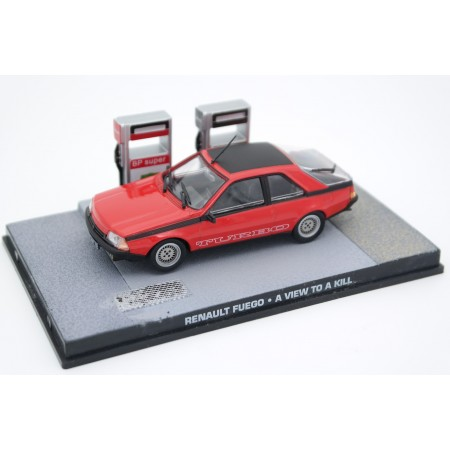 "Altaya Renault Fuego Turbo ""A View to a Kill (1985)"" 1984 - Red"