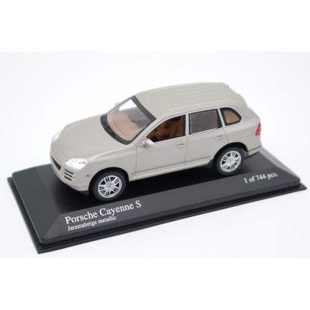 Minichamps Porsche Cayenne S 9PA Facelift 2007 - Jarama Beige Metallic