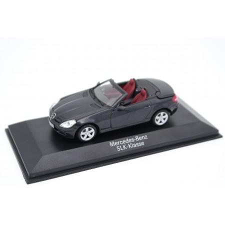 Minichamps Mercedes-Benz SLK-Class R171 2004 - Obsidian Black Metallic