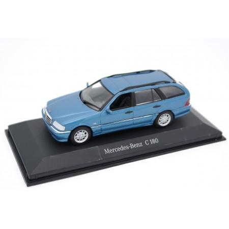 Minichamps Mercedes-Benz C-Class T-Modell Elegance C 180 S202 1997 - Iris Blue Metallic
