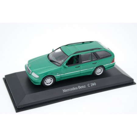 Minichamps Mercedes-Benz C-Class T-Modell Elegance V6 C 240 S202 1997 - Designo Green Metallic