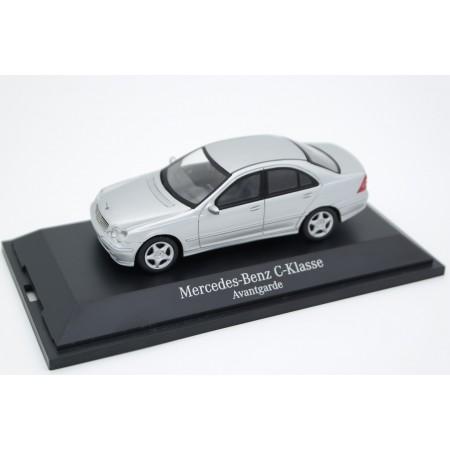 Schuco Mercedes-Benz C-Class Avantgarde W203 2000 - Brilliant Silver Metallic