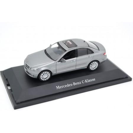 Schuco Mercedes-Benz C-Class Elegance W204 2007 - Palladium Silver Metallic