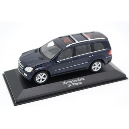 Minichamps Mercedes-Benz GL-Class X164 2006 - Tansanit Blue Metallic