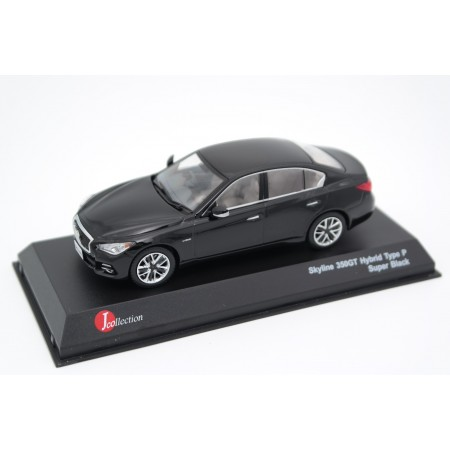 J-Collection Nissan Skyline 350GT Hybrid Type P V37 / Infiniti Q50 S Hybrid 2013 - Super Black