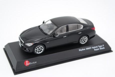 J-Collection Nissan Skyline 350GT Hybrid Type P V37 / Infiniti Q50 S Hybrid 2013 - Super Black