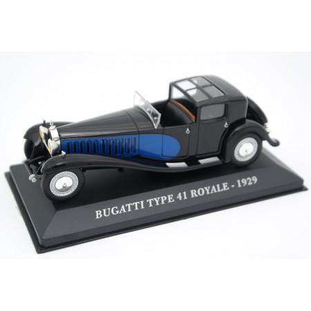 Altaya Bugatti Type 41 Royale 1929 - Black/Blue