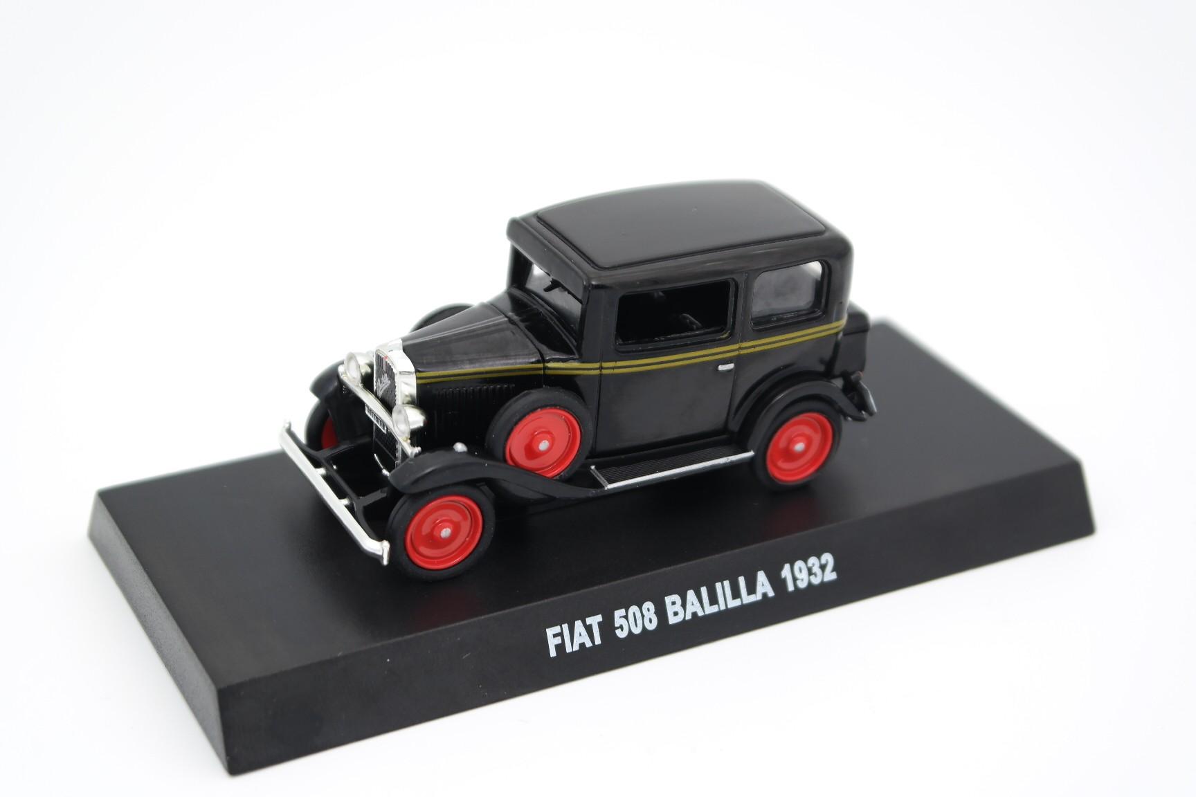 DIE CAST FIAT 508 BALILLA 1932 SCALA 1\43