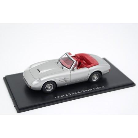 Neo Scale Models Lorenz & Rankl Silver Falcon 1988 - Silver Metallic