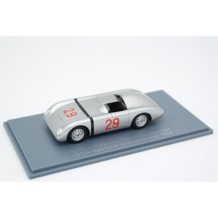 """Neo Scale Models Rometsch Porsche Spyder #29 """"Renngemeinschaft Berlin-Halensee"""" DDR Sportcar Championship 1954 - H.Niedermayr"""