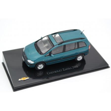 Hachette Chevrolet Zafira 2001 - Jade Green Metallic