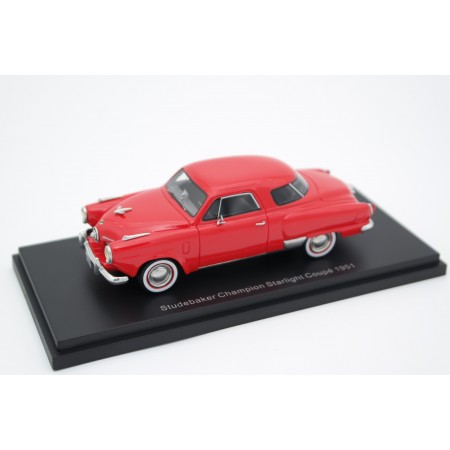 BoS-Models Studebaker Champion Starlight Coupe 1951 - Coral Red