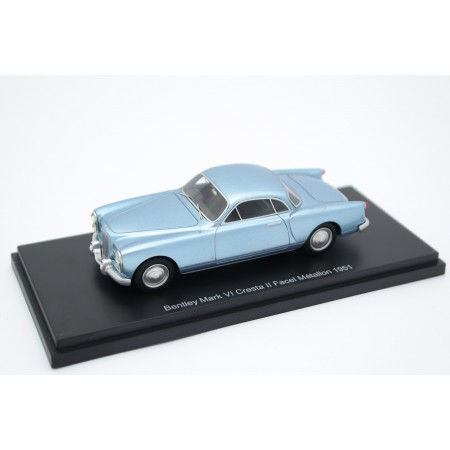 BoS-Models Bentley Mark VI Cresta II by Pininfarina & Facel-Métallon 1951 - Light Blue Metallic