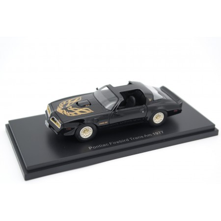BoS-Models Pontiac Firebird Trans Am 1977 - Starlight Black