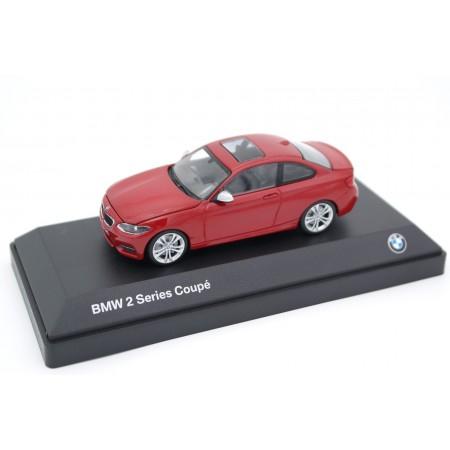 iScale Minichamps BMW 2 Series Coupé F22 2014 - Melbourne Red