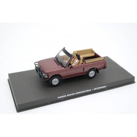 "Altaya Range Rover Convertible Rapport Huntsman Series I ""Octopussy (1980)"" 1983 - Russet Brown"